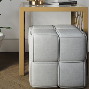 Grant Cube Ottoman by CosmoLiving by Cosmopolitan