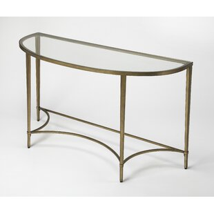 Kaliyah Demilune Console Table by Mercer41
