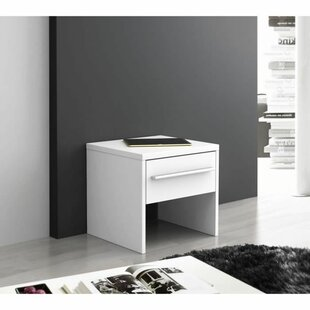 Bransford 1 Drawer Bedside Table By Ebern Designs