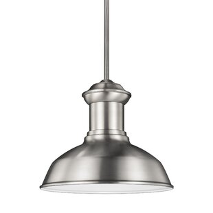 Best Choices Vallie 1-Light Outdoor Pendant By Laurel Foundry Modern Farmhouse