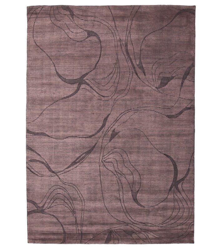 Orren Ellis Andreucci Abstract Handwoven Brown Area Rug Wayfair