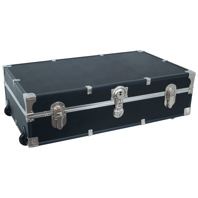 Attrayant Walmsley Wheeled Storage Footlocker Trunk