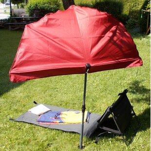 Sunshade 1.4m Beach Parasol By Holly