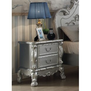 Astoria Grand Villenova 2 Drawer Nightstand