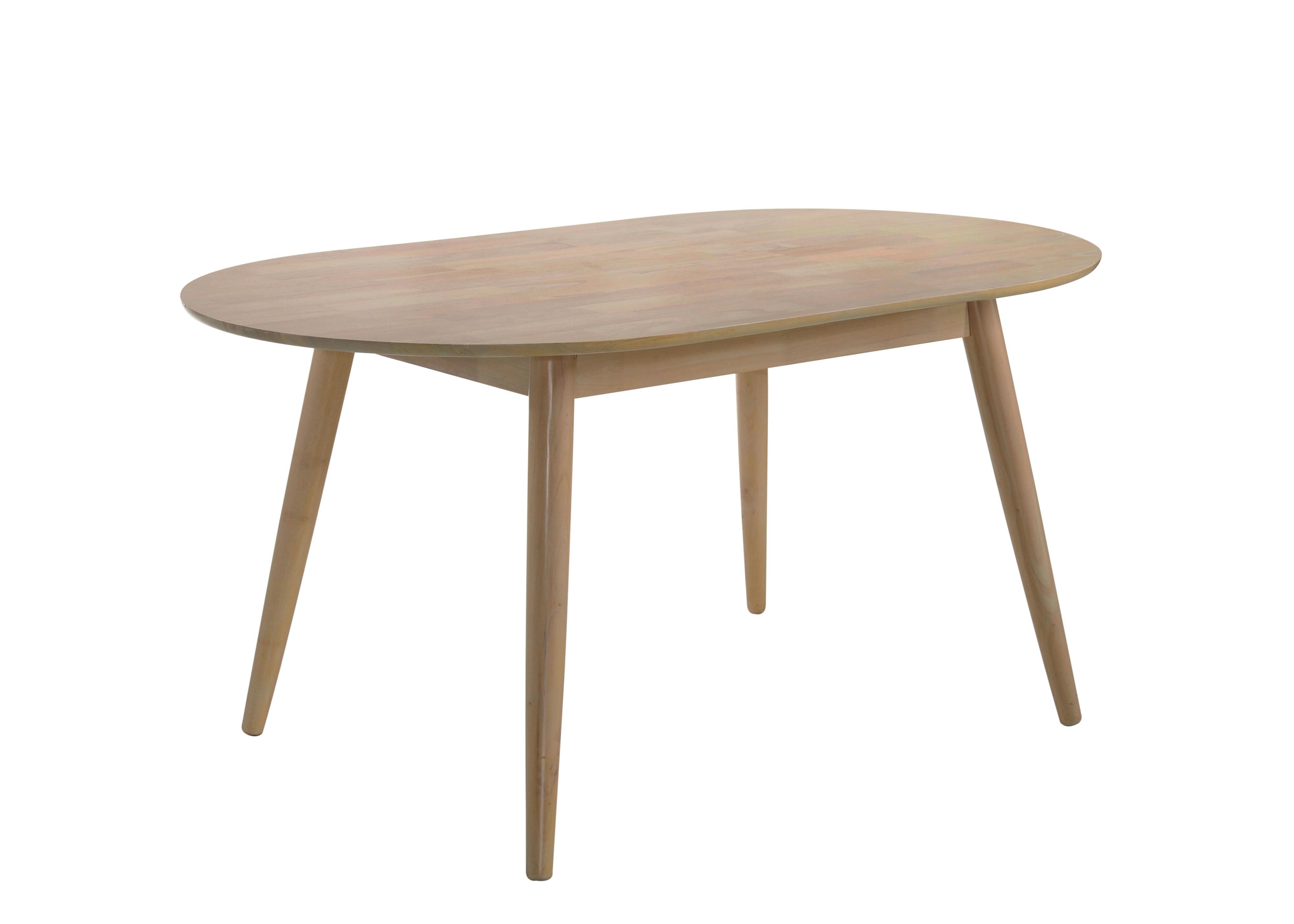 Castaneda Mid Cenutry Modern Solid Wood Dining Table