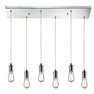 Brayden Studio Topete 6-Light Kitchen Island Pendant