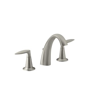 Kohler Alteo Widespread Bathroom Sink Faucet with Drain Assembly