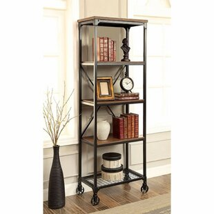 Lipman Industrial Etagere Bookcase