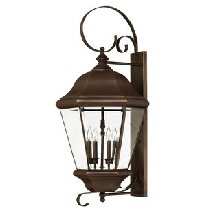 Clifton Park 4-Light Outdoor Wall Lantern..