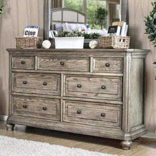 Gaetan Transitional 7 Drawer Dresser by Darby Home Co