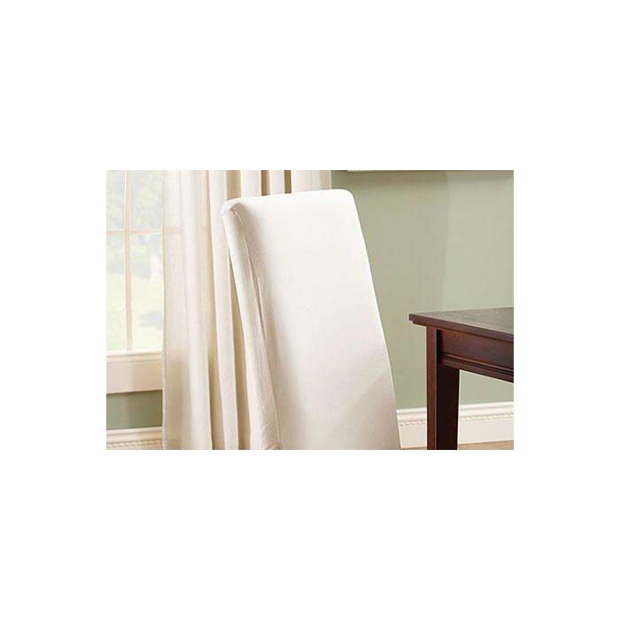Astounding Cotton Duck Box Cushion Dining Chair Slipcover Cjindustries Chair Design For Home Cjindustriesco