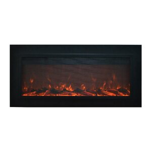 Sideline Steel� Wall Mount Electric Fireplace by Touchstone