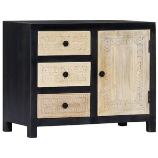 Skodak 3 Drawer Combi Chest By World Menagerie