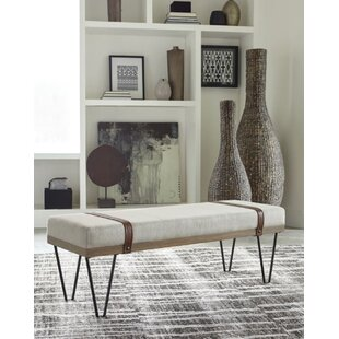 Williston Forge Carnahan Upholstered Bench