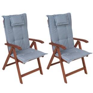 Chatterton Reclining Garden Chair With Cushion (Set Of 2) By Sol 72 Outdoor