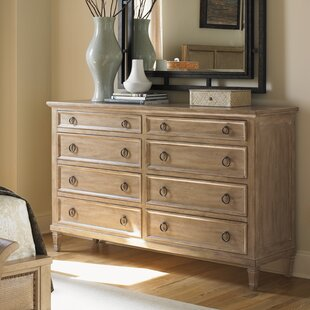 Monterey Sands Hollister 8 Drawer Double Dresser