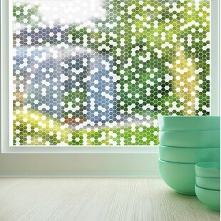 Honeycomb Sheer Window Film by Stick Pretty
