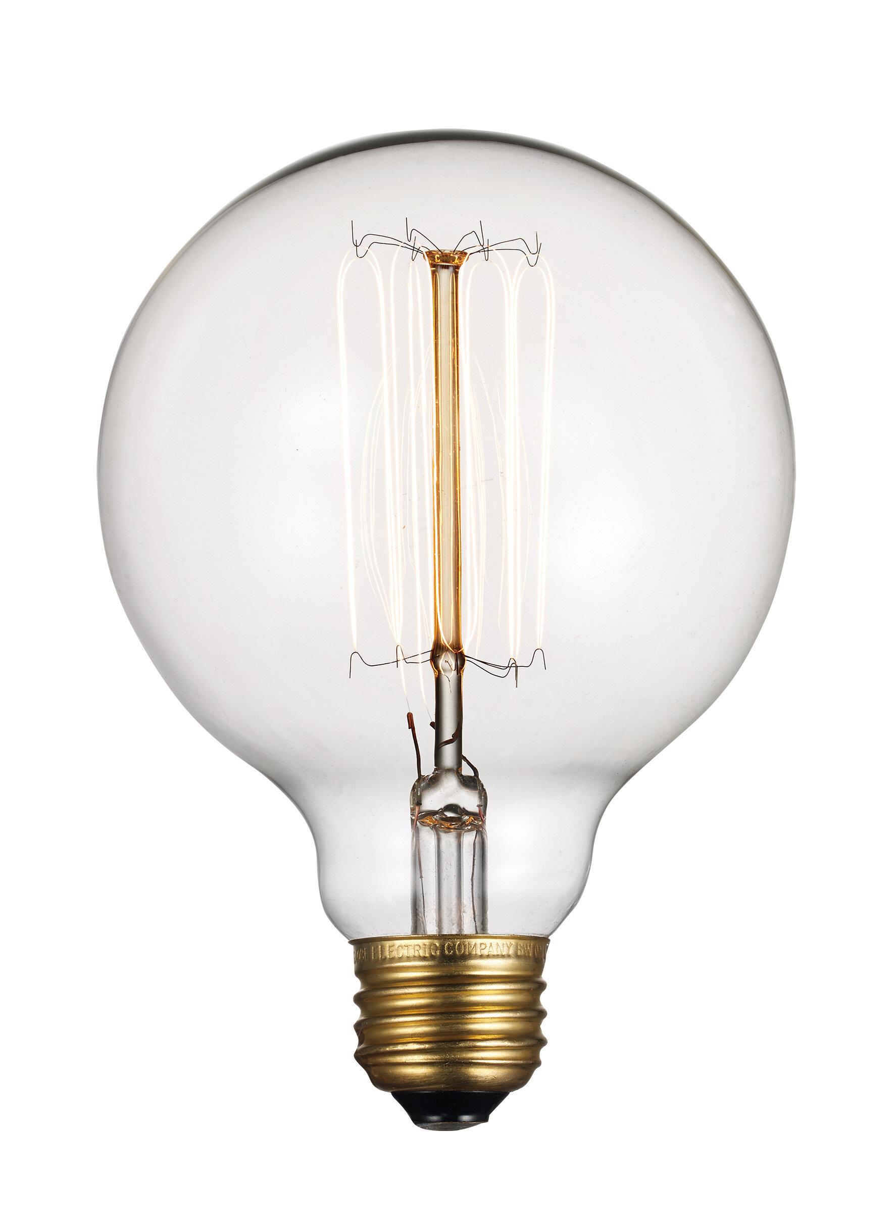60 Watt Incandescent Light Bulb