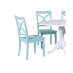 Deforest Solid Wood Dining Chair by Highl..