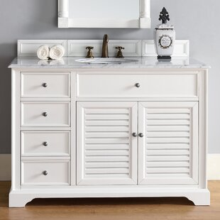 Osmond 48 Single Cottage White Bathroom Vanity Set by Greyleigh
