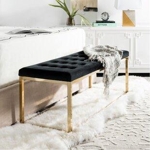 Hayse Upholstered Bench by Mercer41