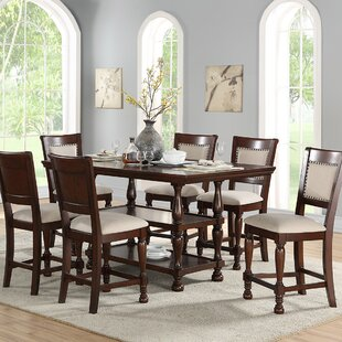 Harriett Pub Table Set Canora Grey