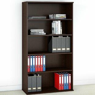 5 Shelf Standard Bookcase Bush Business Furniture