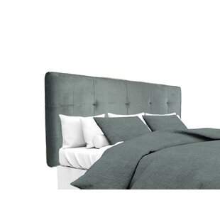 Nyla Upholstered Panel Headboard by Alcott Hill