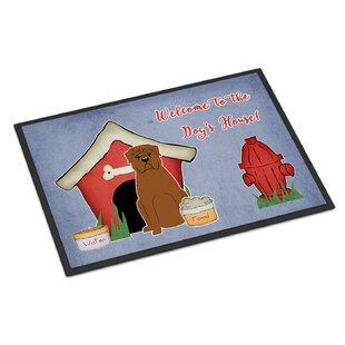 Genial Dog House Dogue De Bourdeaux Door Mat