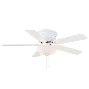 Affordable 44 Castilleja 5-Blade Ceiling Fan ByHighland Dunes
