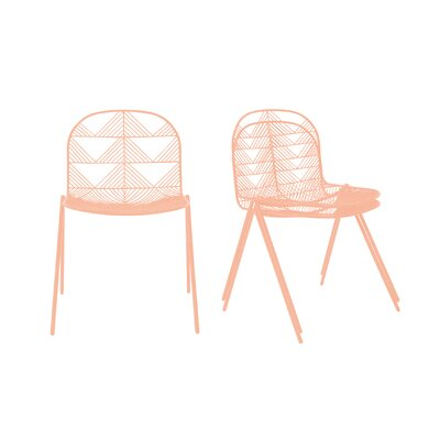 Pleasant Betty Dining Chair Bend Goods Color Peachy Pink Forskolin Free Trial Chair Design Images Forskolin Free Trialorg
