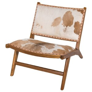 Harley Low Rider Cowhide Guest Chair