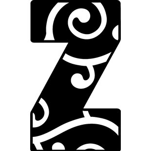 Large Metal Letter Z Wayfair