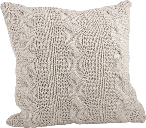 Cable Knit Pillows And Throws