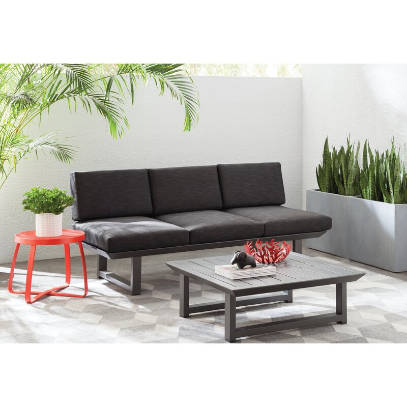 Mercury Row  Lingo 2 Piece Sofa Set with Cushions