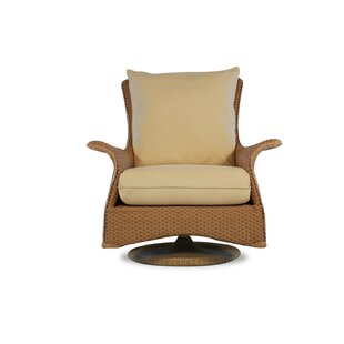 Lloyd Flanders Mandalay Swivel Glider Chair with Cushions