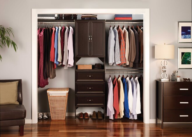 Make Mornings (and Life) Easier By Customizing Your Closet To Your Needs  With An Easy To Install System. Step One: Measure For A Flawless Fit.