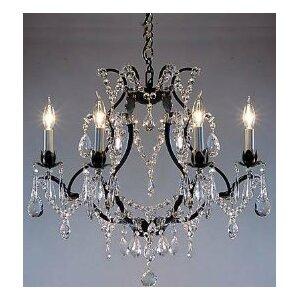 Maria Theresa 6-Light Crystal Chandelier