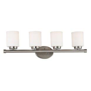 Wildon Home ® Heritage 4-Light Vanity Light