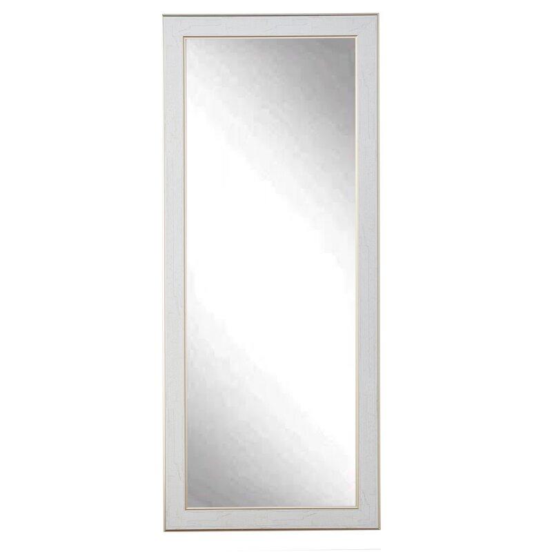 Whitegold Cracked Full Length Wall Mirror Allmodern