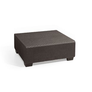 Ivy Bronx Mcguffin Resin Wicker Coffee Table