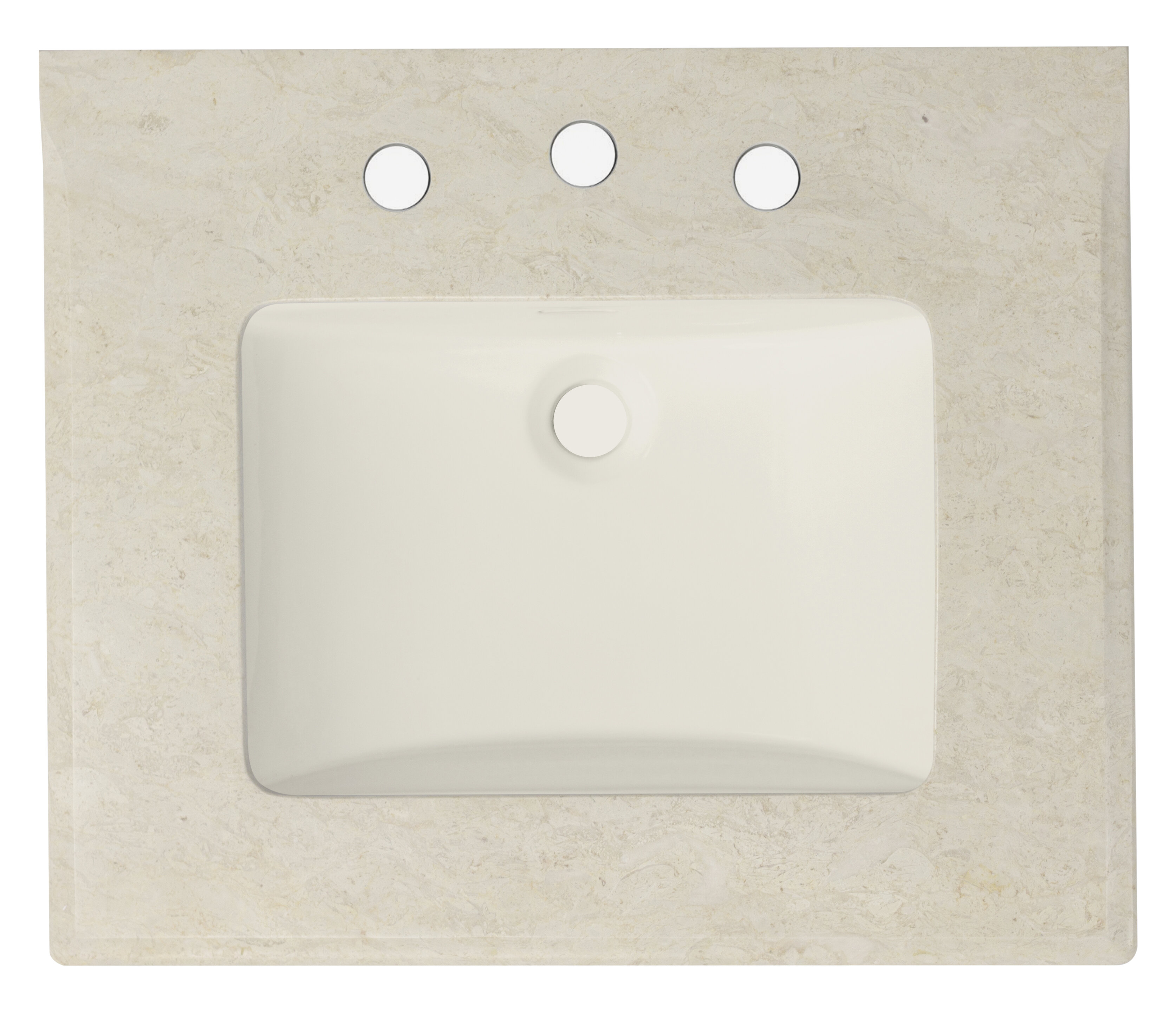 - Wrought Studio 23.5-In. W 19.5-In. D Marble Top With Backsplash In