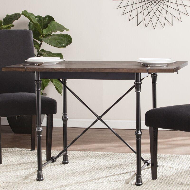 Trent Austin Design Cristal Drop-Leaf Dining Table & Reviews | Wayfair