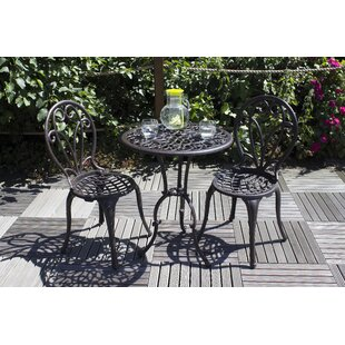 Hugh 2 Seater Bistro Set With Cushions Image