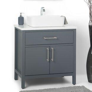 Read Reviews Patton 31 Single Bathroom Vanity Set BySimpli Home