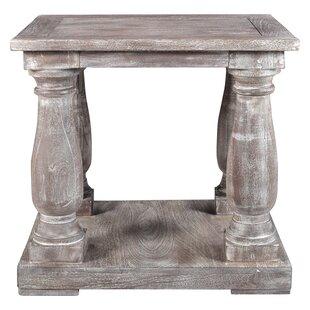 Maliyah Pedestal End Table