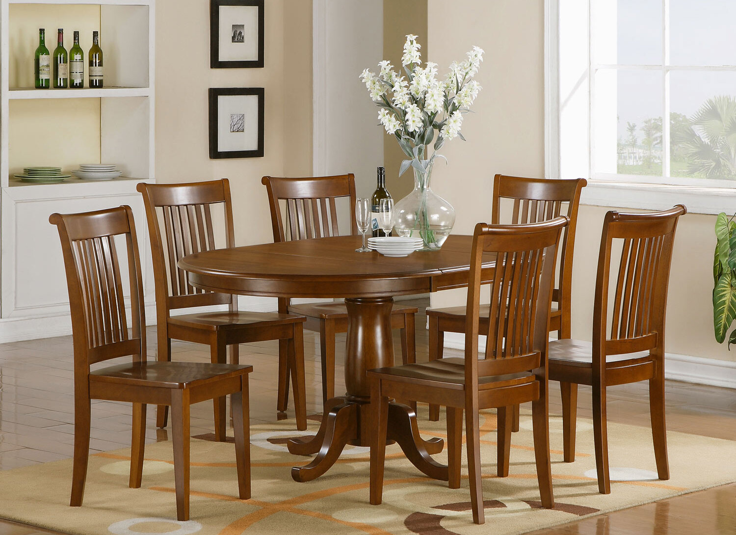 Oval Seats 9 Kitchen & Dining Room Sets & Tables You'll Love in ...