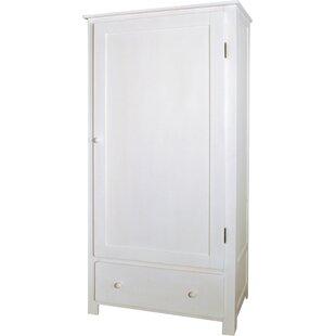 Crowder 1 Door Wardrobe By Harriet Bee