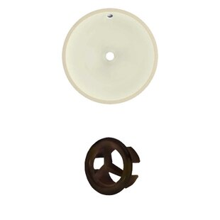 Find for Ceramic Circular Undermount Bathroom Sink with Overflow By Royal Purple Bath Kitchen