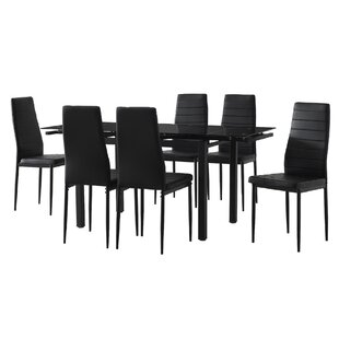 Dinning Set With 6 Chairs By Mercury Row